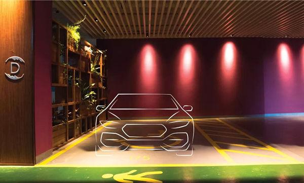 森林城市停车位展示