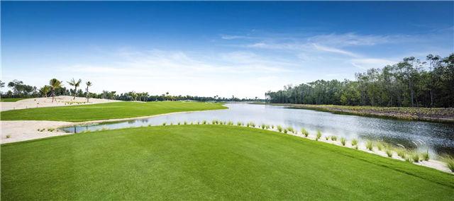 森林城市高尔夫球场实景