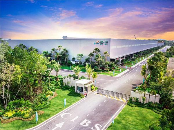 森林城市建筑工业化产业园一期现代化预制工厂